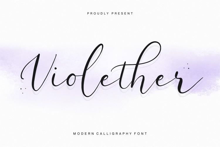 Violether Font