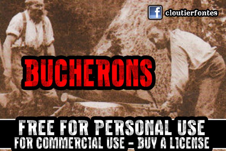 CF Bucherons Font