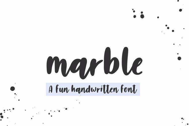 Marble _ PERSONAL _ USE _ ONLY Font