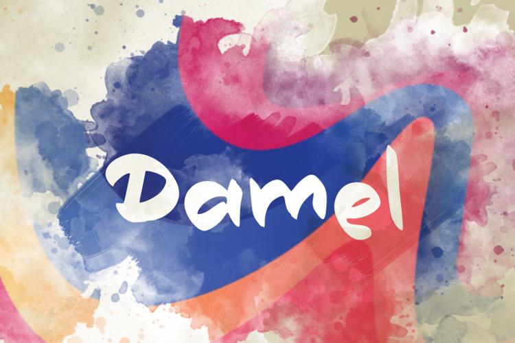 d Damel Font