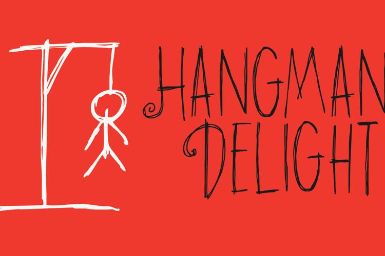 DK Hangmans Delight Font