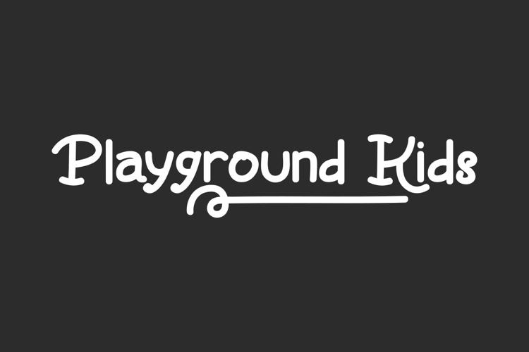 Playground Kids Font