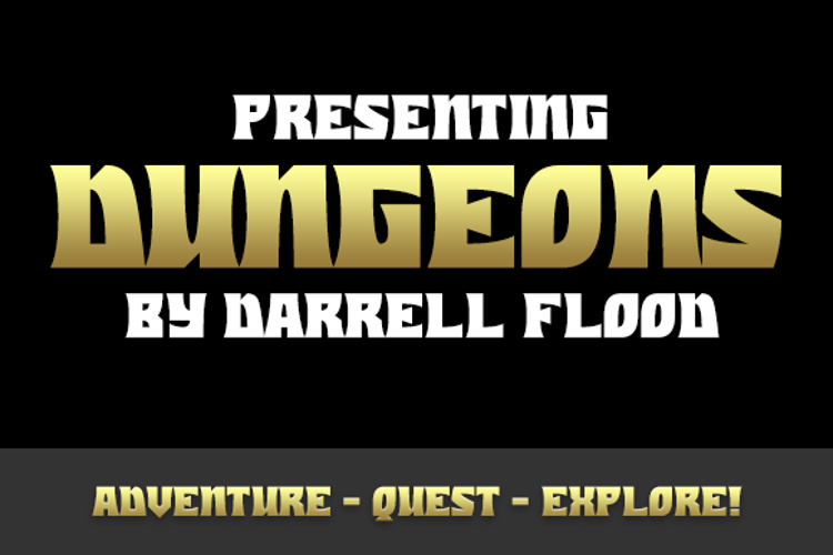 Dungeons Font