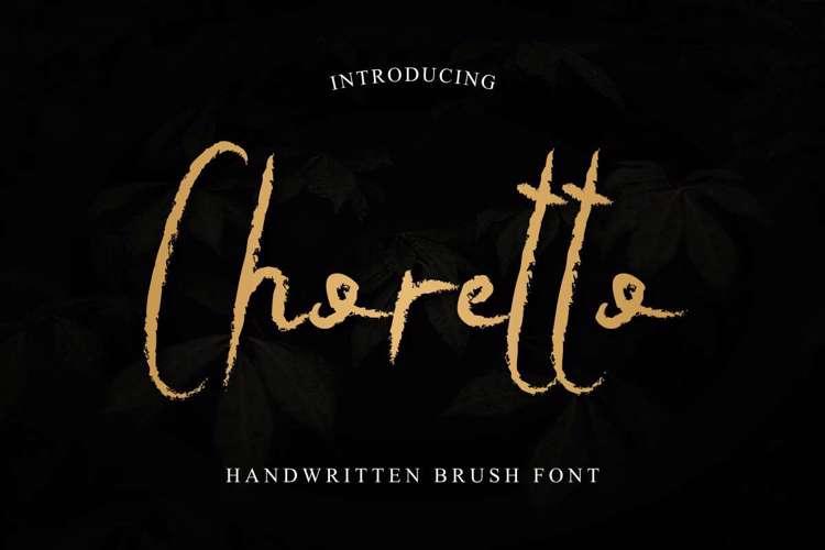 Choretto Font