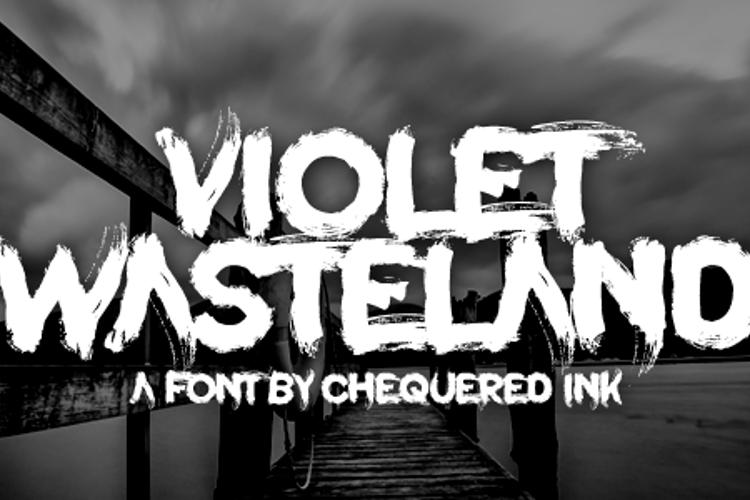 Violet Wasteland Font