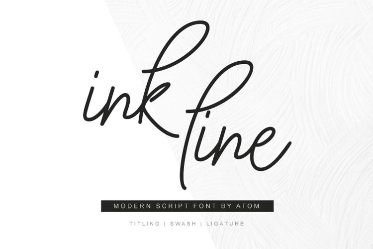 Ink Line Font