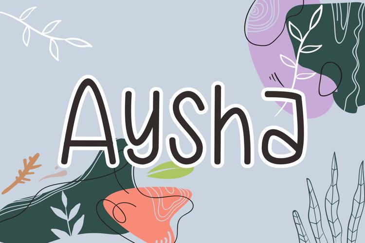 Aysha Font