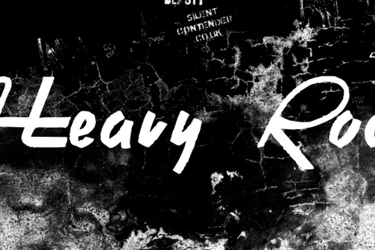 Heavy Rock Font