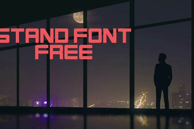 Stand Font