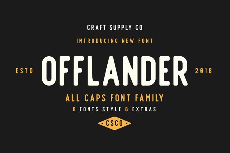Offlander Font