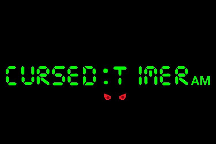 Cursed Timer ULiL Font