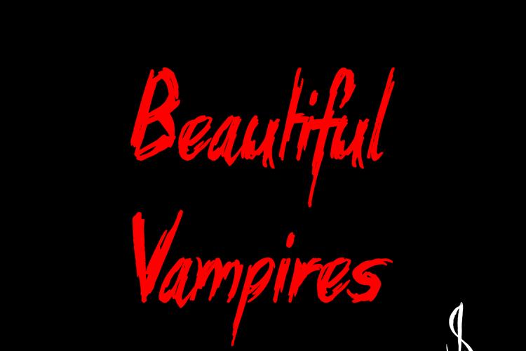 Beautiful Vampires Font