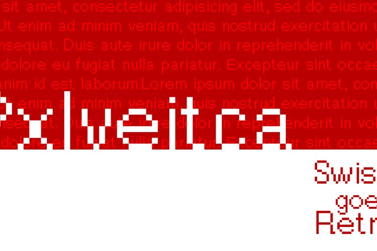 Pxlvetica Font