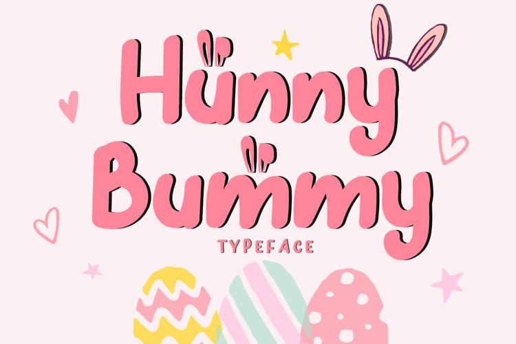 Hunny Bummy Font