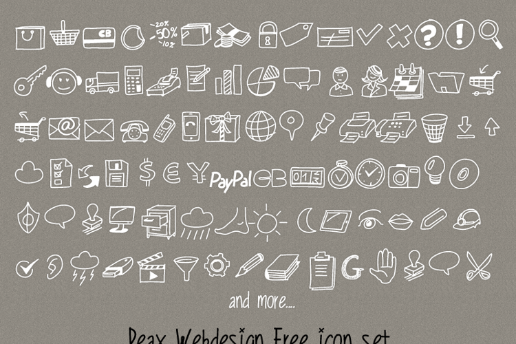 PeaxDrawnIcons Font