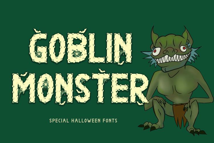 Goblin Monster Font