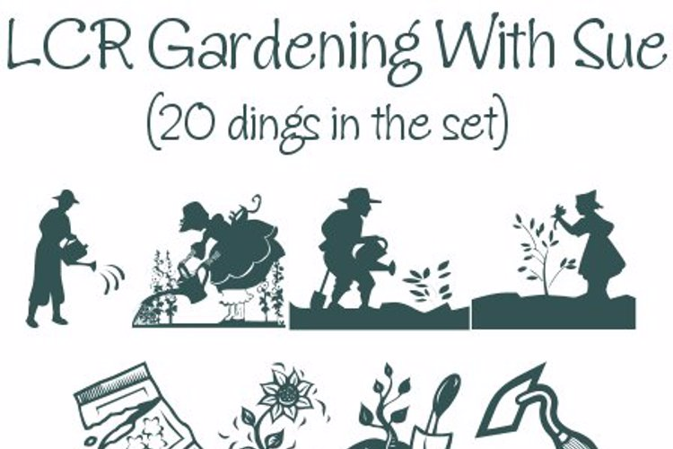 Gardening With Sue Font