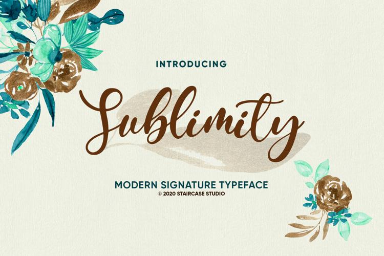 Sublimity Font