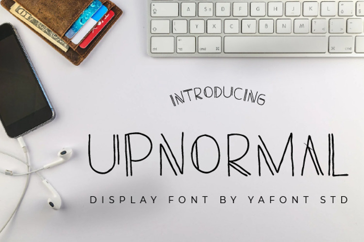 UPNORMAL Font