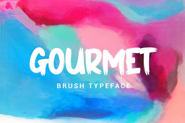 GOURMET Font