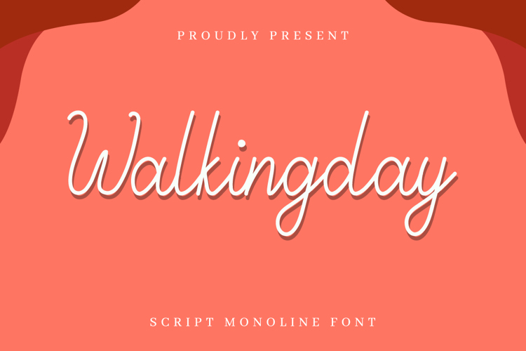 Walkingday Font