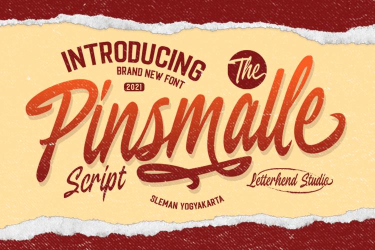 Pinsmalle Font