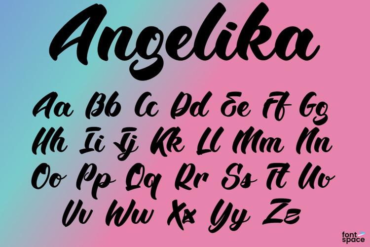 BTX-Angelika Font