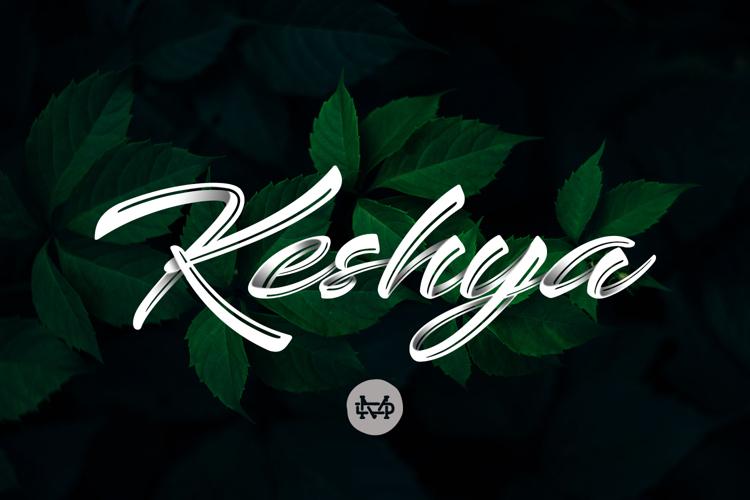 Keshya Font