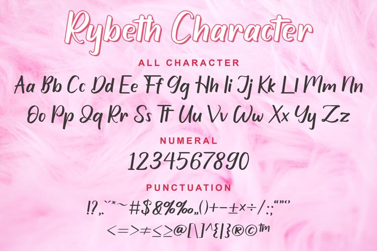 Rybeth Font