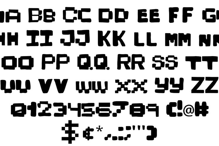 KidPixies Font