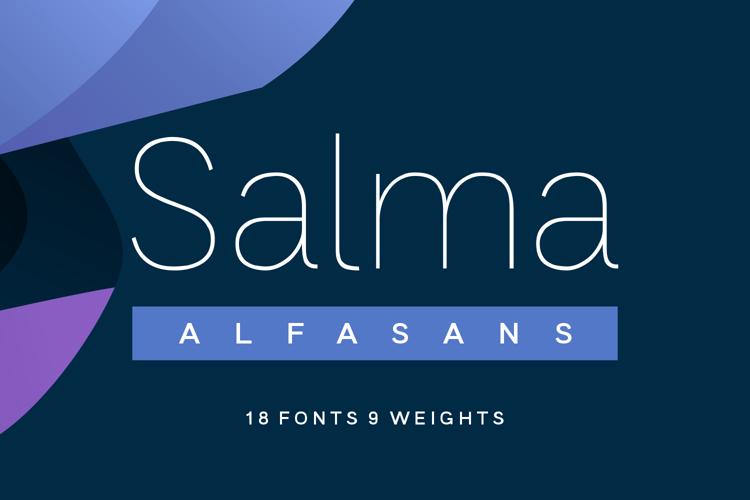 Salma Alfasans Font