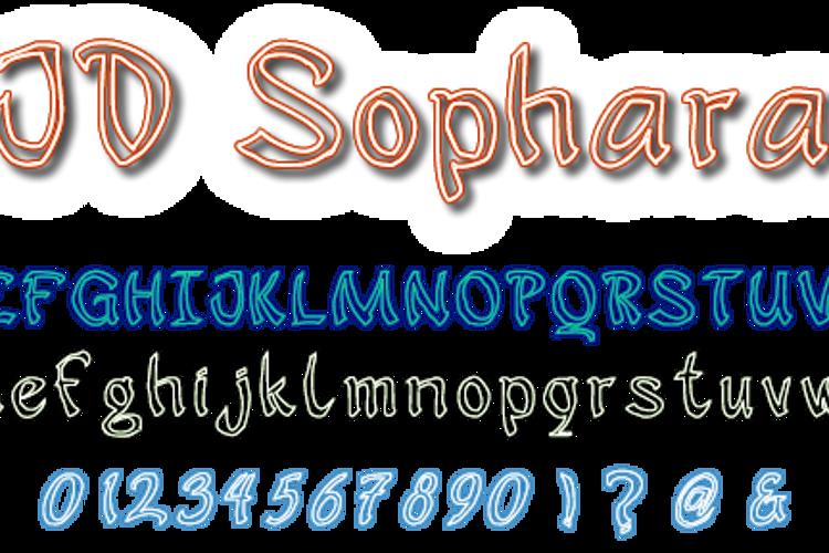 JD Sophara Font