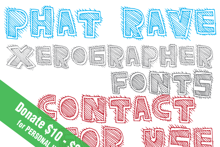 PhatRave Font