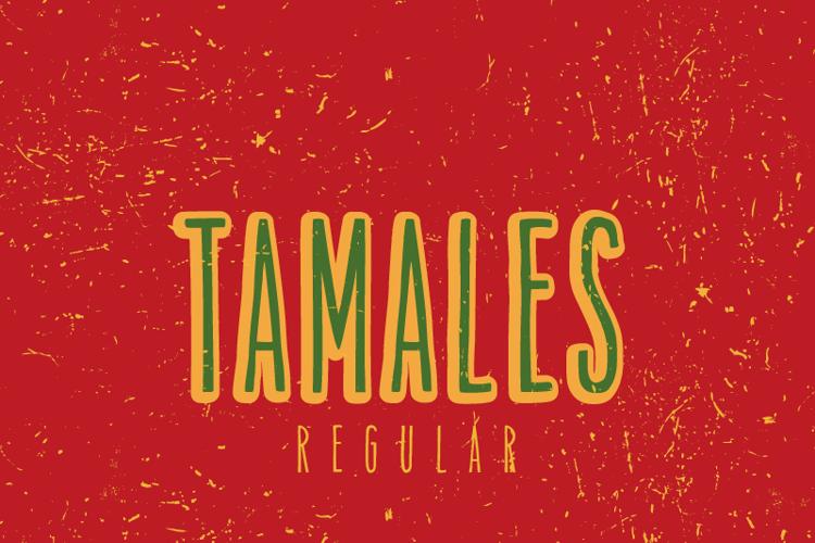 Tamales Regular Font