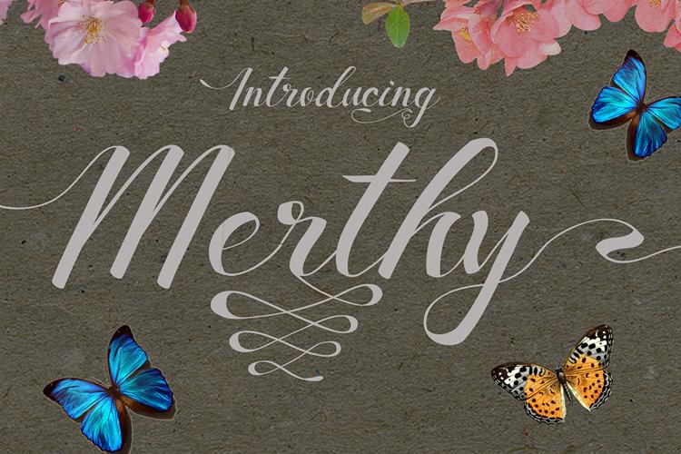 Merthy Font