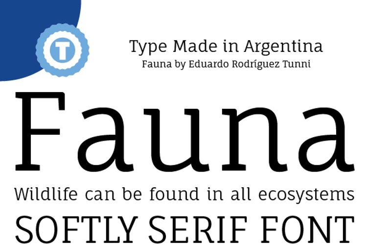 Fauna One Font