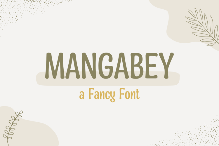 Mangabey Font