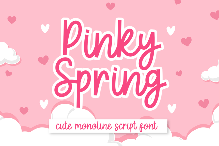 Pinky Spring Font