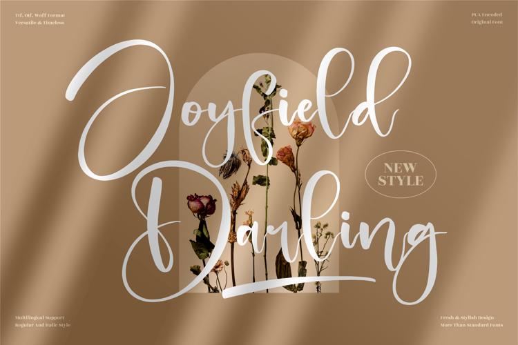 Joyfield Darling Font