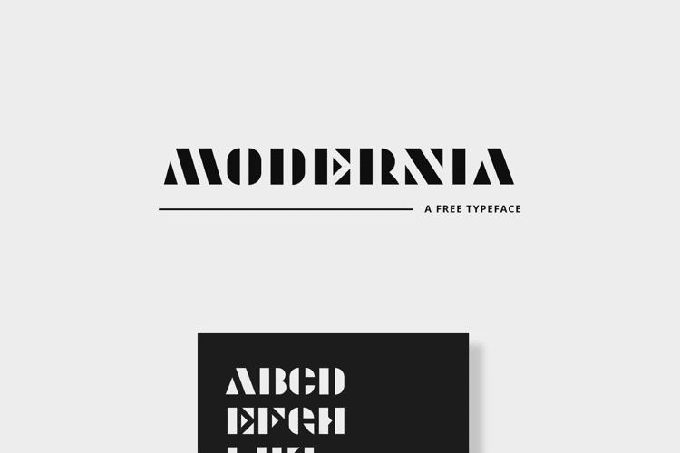 Modernia Font