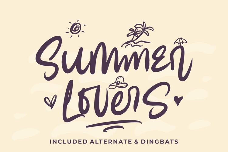 Summer Lovers Font