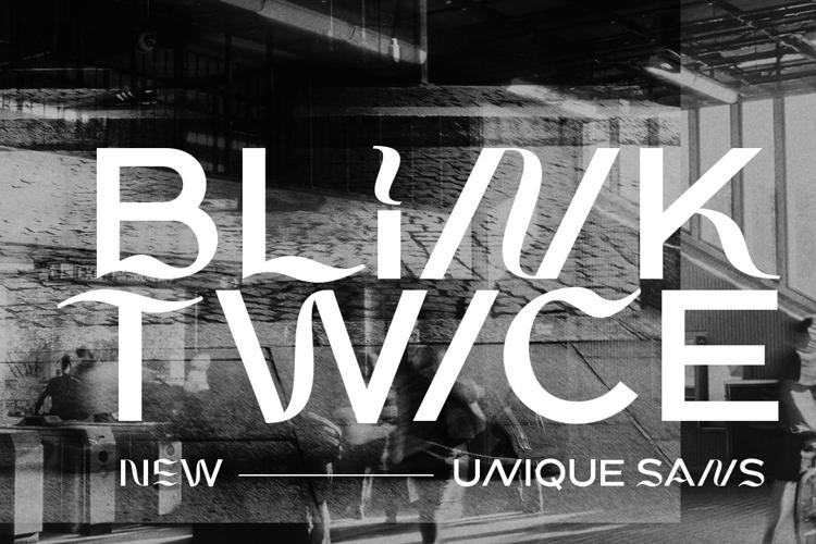 Blink Twice Font