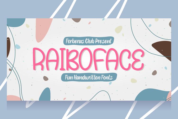 Rainboface Font
