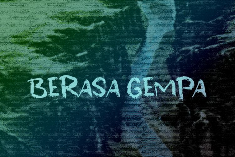 b Berasa Gempa Font