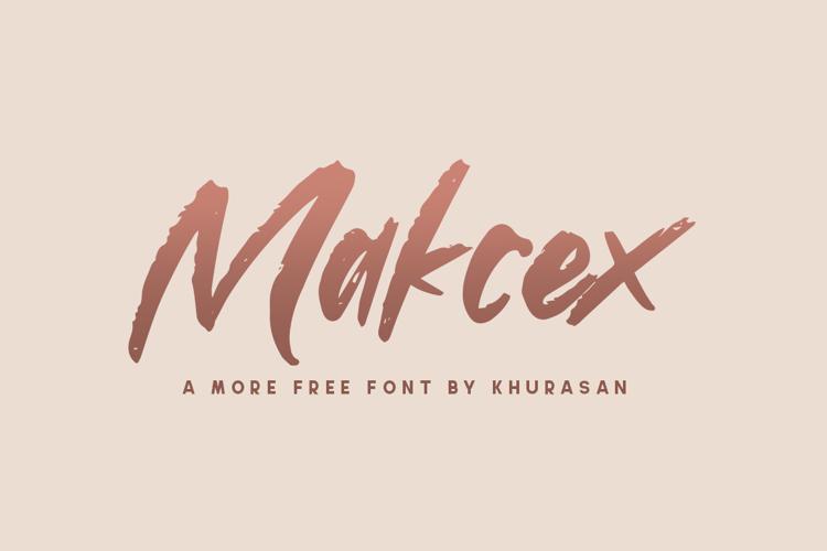 Makcex Font