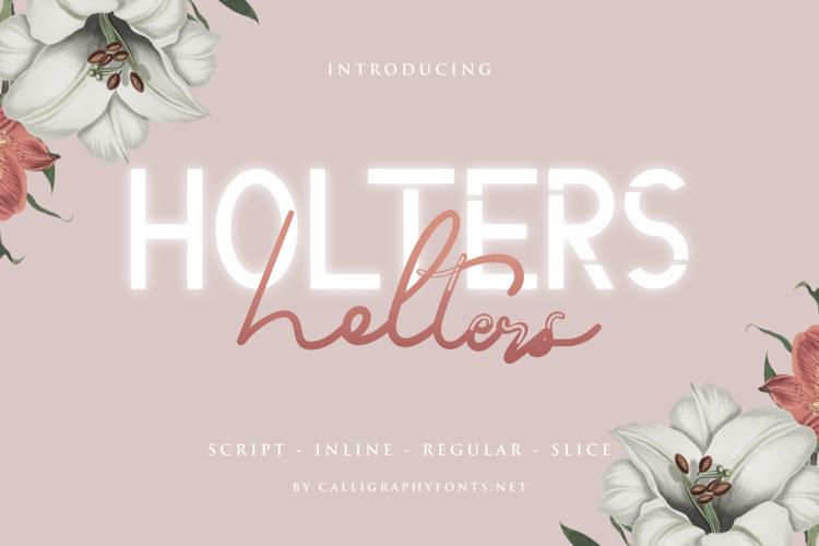 Holters Script Font