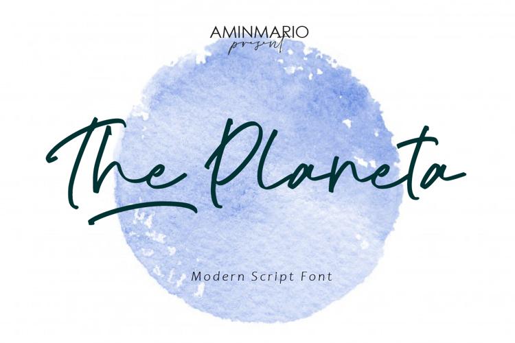 The Planeta Font