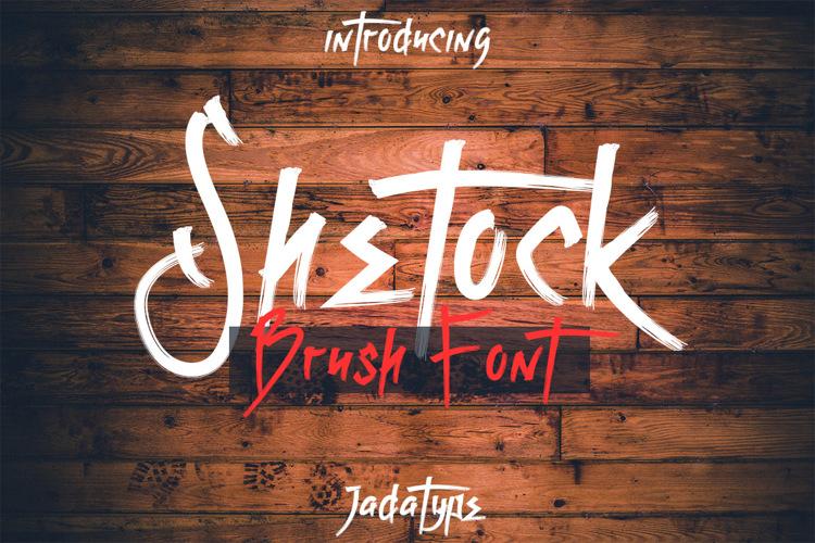 Shetock Font