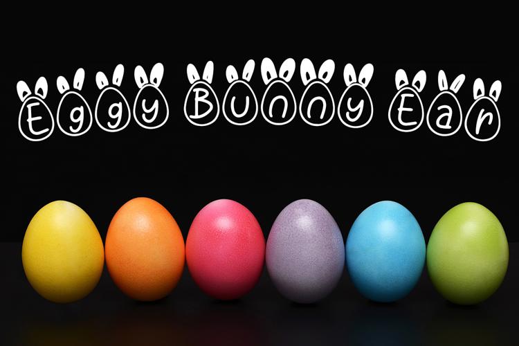 Eggy Bunny Ear Font
