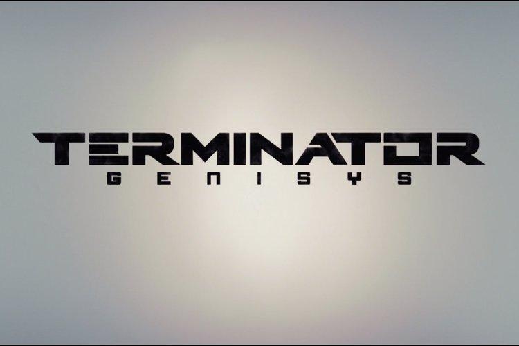 Terminator Genisys Font